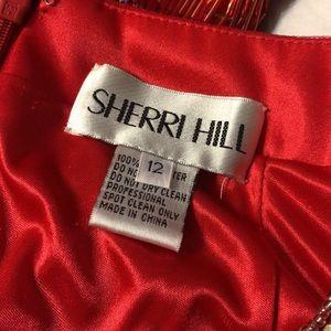Prom dress- Sherri Hill Red